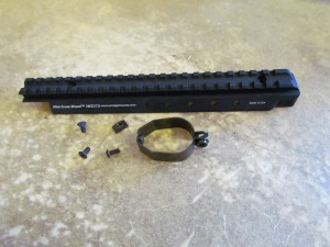 All parts necessary for the installation of the Amega rail are included with the kit.