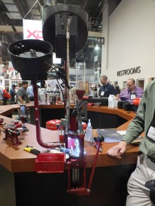 Hornady's progressive reloading press.