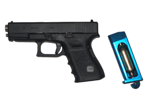 The Dvorak G19 Training Pistol