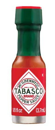 Tabasco - Miniature 1/8 ounce bottle