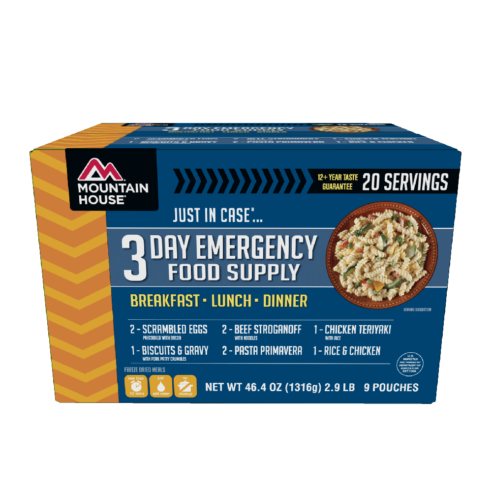 Mountain House Just in Case...® 3 Day Emergency Food Supply