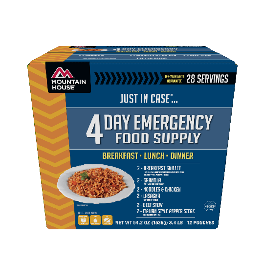 Mountain House Just In Case...® 4 Day Emergency Food Supply