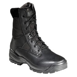 "5.11 ATAC 8"" Boot (Black) - Leather, Size 9.5 Regular"