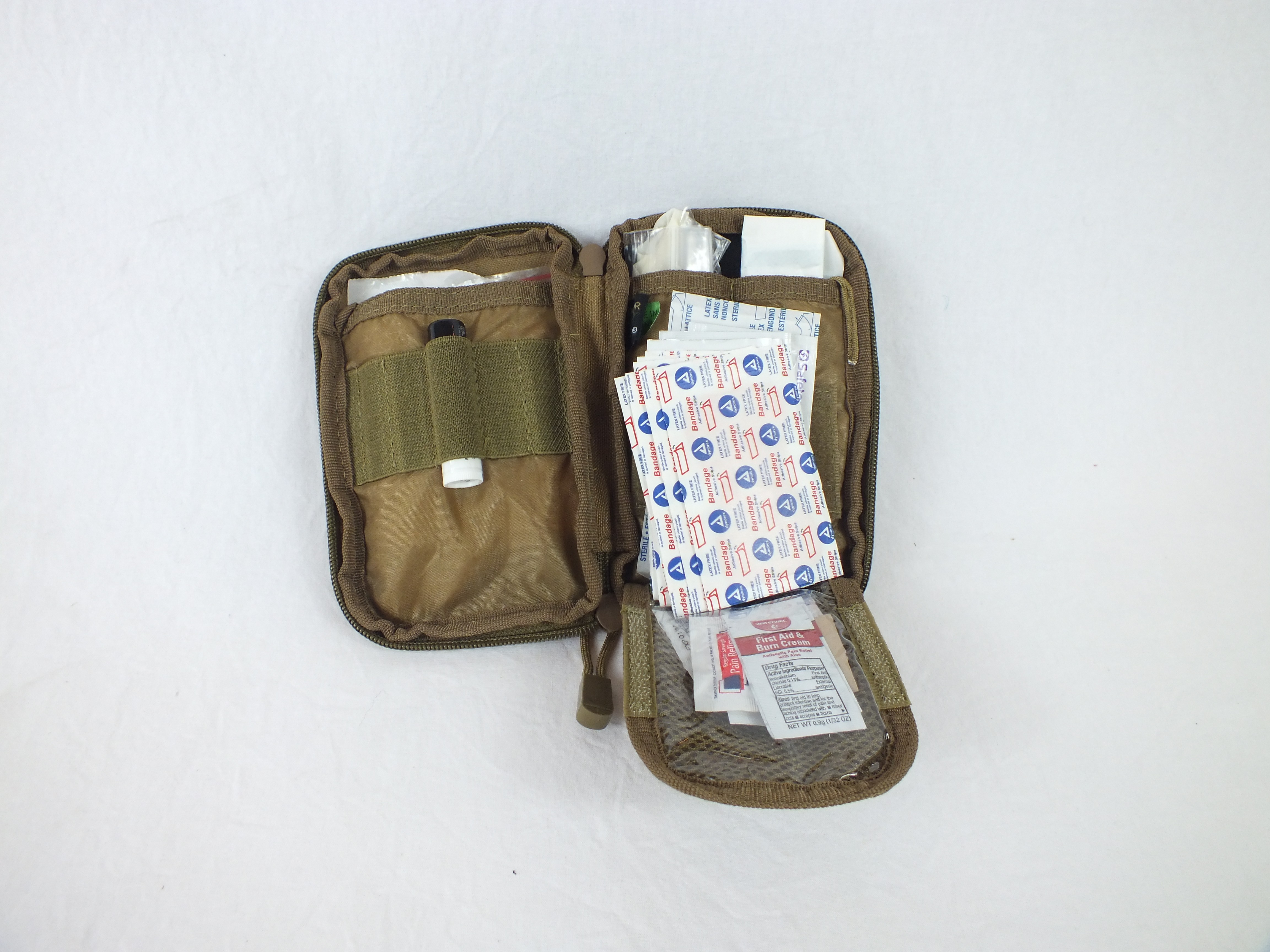 """Basic First Aid """"Boo Boo"""" Kit with Pouch"""