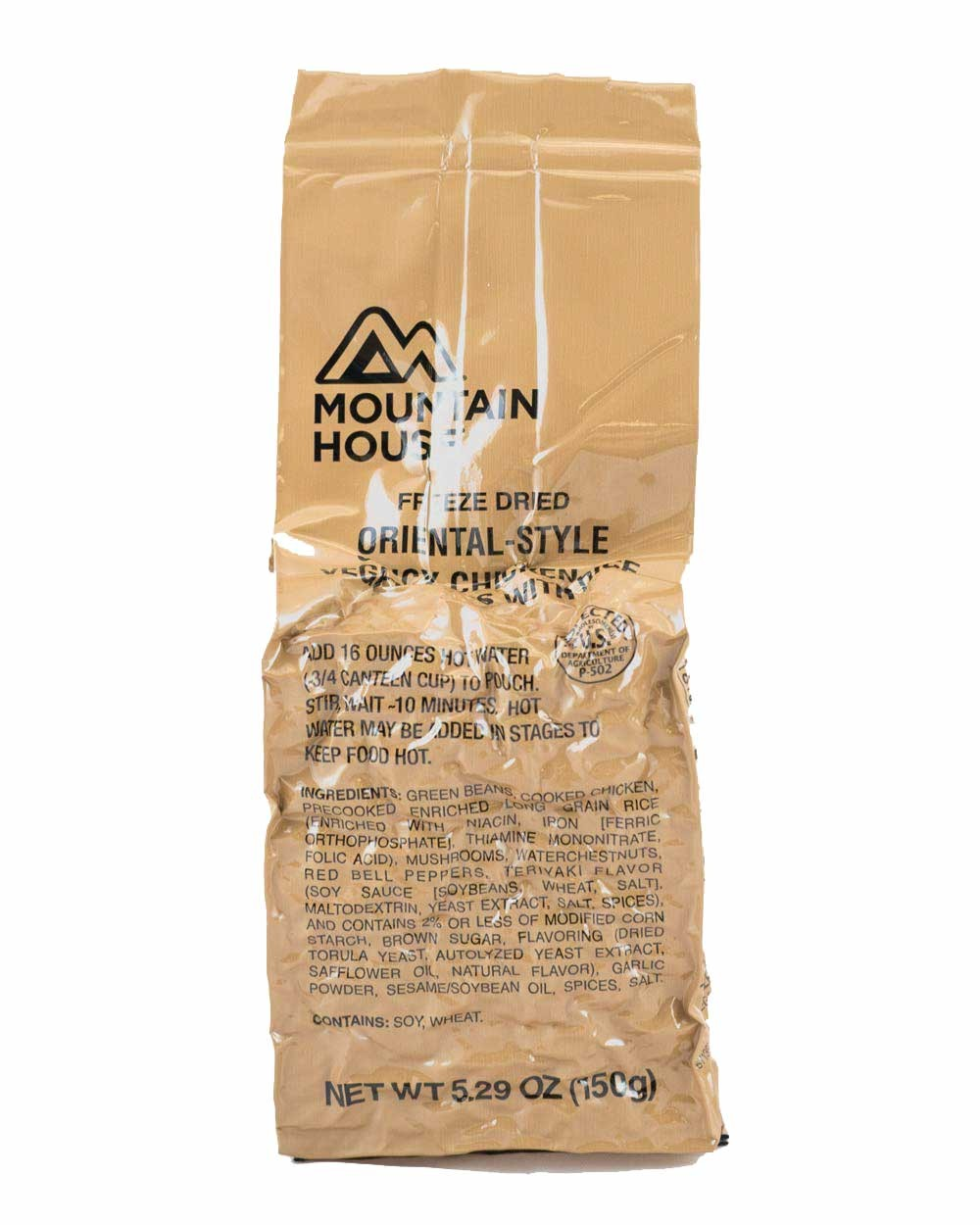 Military Ration - Spicy Oriental Chicken LRP - Mountain House
