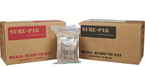 Sopakco Sure-Pak MRE - Case of 12 Meals WITH Heaters