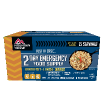 Mountain House Just in Case...® 2 Day Emergency Food Supply
