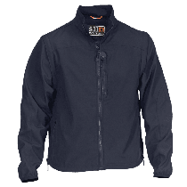 5.11 Valiant Softshell Jacket, Navy, Small