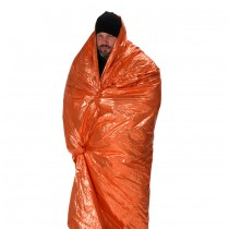 Emergency Survival Blanket Orange/Silver