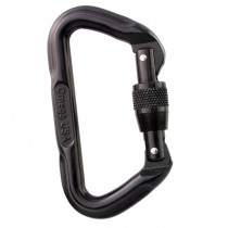 Omega Pacific D Shaped Screw Lock Carabiner