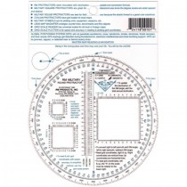 Military Round Protractor