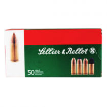 Sellier & Bellot 9mm Luger/9mm Para Subsonic 140 FMJ - CASE of 1000