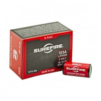 Surefire SF123A CR123 Batteries Box of 12