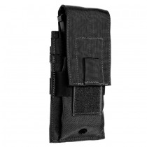 Single Universal Rifle Molle Pouch Black