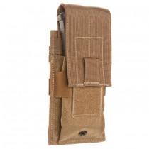 Single Universal Rifle Molle Pouch Coyote