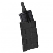 SINGLE SPEED LOAD RIFLE MAGAZINE POUCH Black