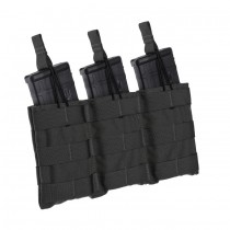 TRIPLE SPEED LOAD RIFLE MAGAZINE POUCH Black