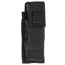 Single Universal Pistol Molle Magazine Pouch Black