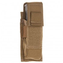Single Universal Pistol Molle Magazine Pouch Coyote