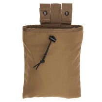 Mag Retention Dump Pouch - Coyote