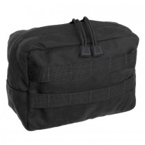 HORIZONTAL GP UTILITY POUCH Black