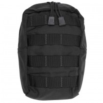 VERTICAL GP UTILITY POUCH Black