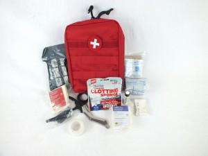 Tactical Trauma Kit - Advanced IFAK - Red