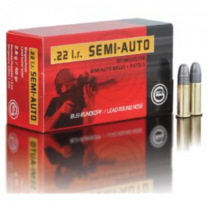 GECO 22LR 40.1 grain Lead Round Nose - 5,000 rounds
