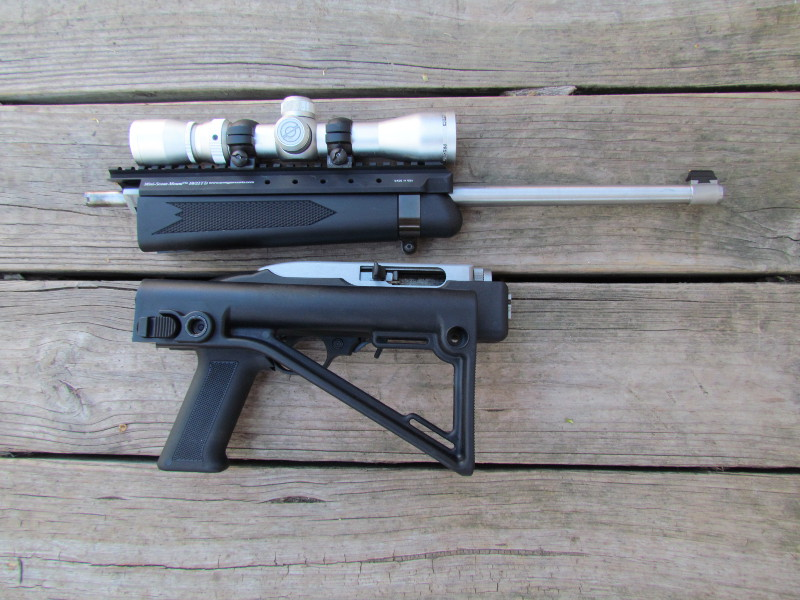 Here's your sneak peek at the nearly complete Takedown Scout project rifle.