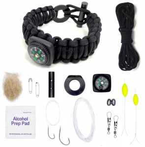 """A """"bare-bones"""" survival kit that can be worn as a part of your EDC (Every Day Carry)."""
